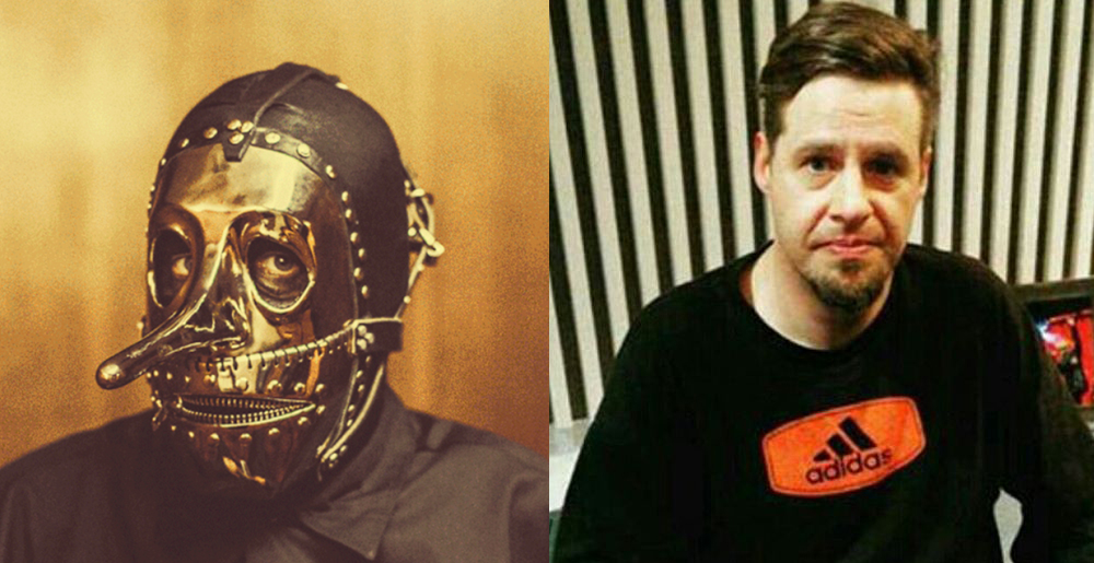 chris fehn with and without mask
