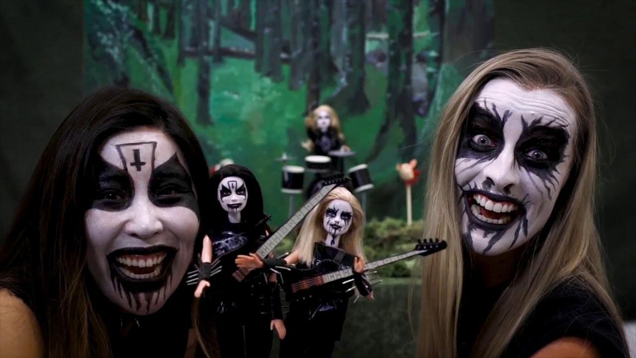 Black Metal Barbie Commercial