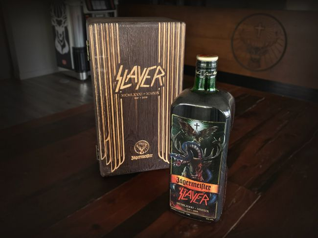Jagermeister launch limited edition Slayer bottle