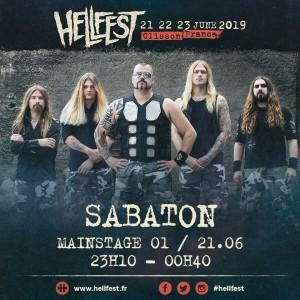 Sabaton hellfest