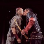 rammstein kiss on stage