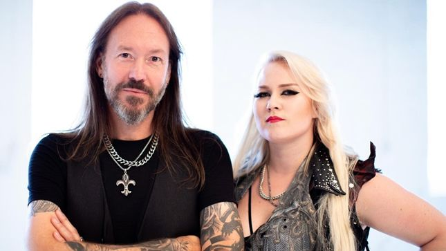 5E0F606F hammerfall premier music video for second to one featuring battle beast s noora louhimo