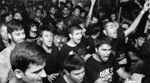 metal fans raging