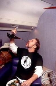 JAMES HETFIELD drunk