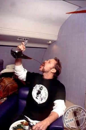 JAMES HETFIELD drunk