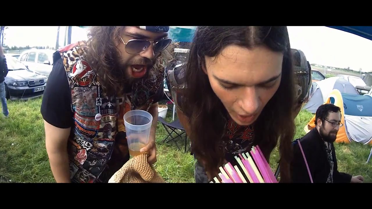 metalheads drunk