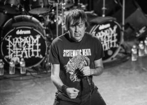 "Mark ""Barney"" Greenway of Napalm Death - Metro Chicago"