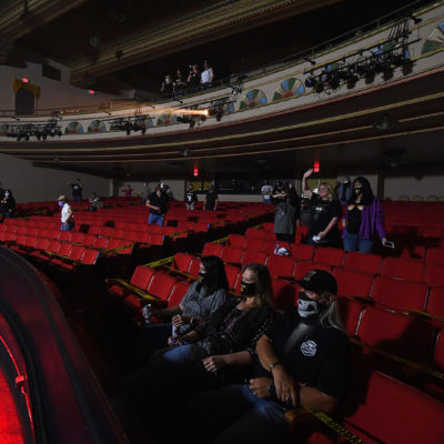 Будущее настало? Как выглядел первый «социально дистанцированный» концерт в США