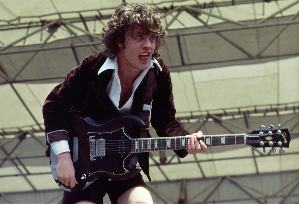 Angus Young early photo