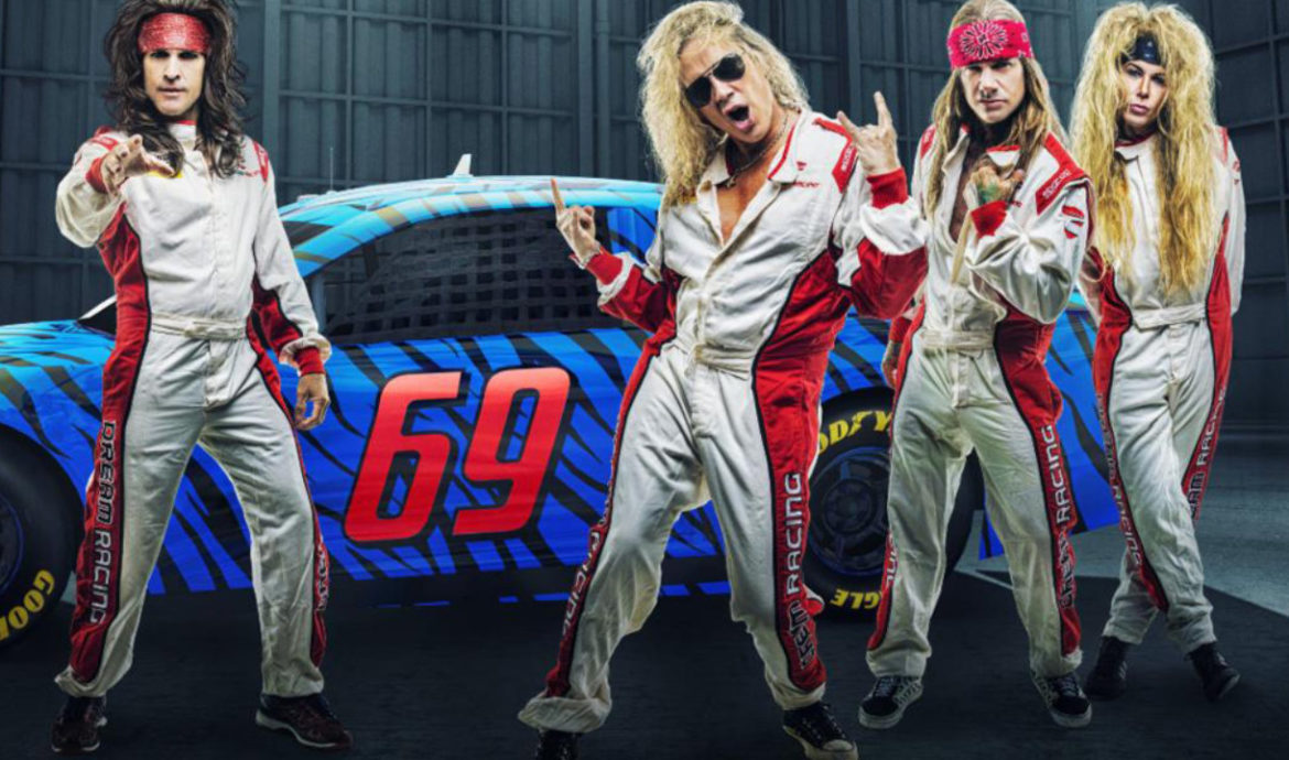 Steel Panther Drive In Shows