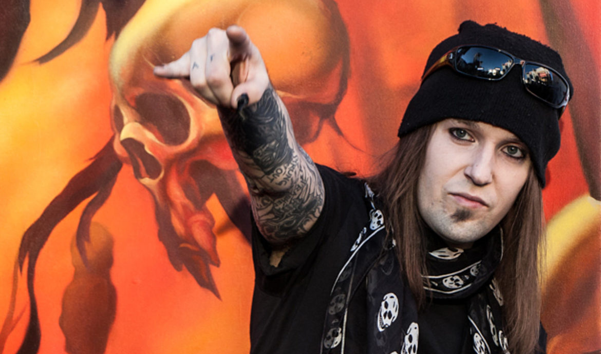 GG Children of Bodom Alexi Laiho