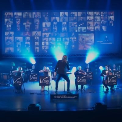 «Пандемический оркестр» из 160 человек сыграл классику IRON MAIDEN