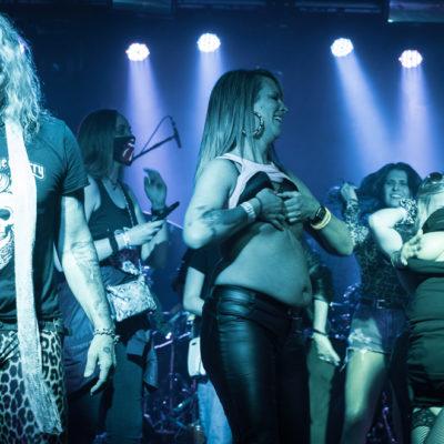 Концерт STEEL PANTHER в Гринсборо: омерзительно чудесно
