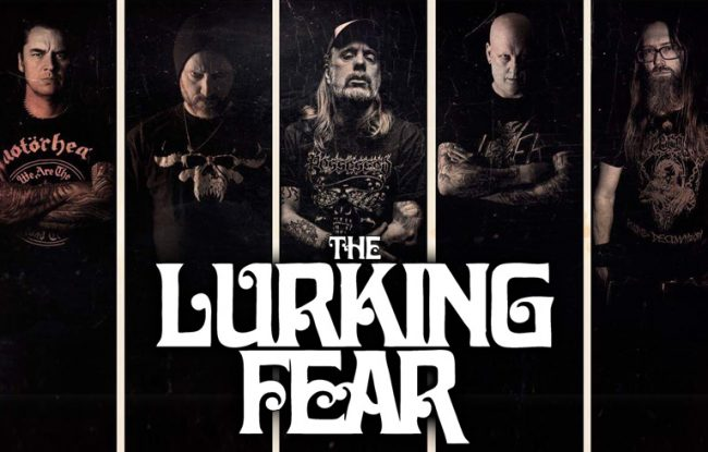 THE LURKING FEAR band at the gates