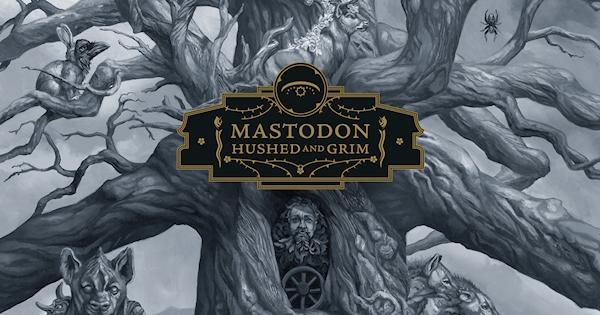 artwork mastodon Hushed and Grim