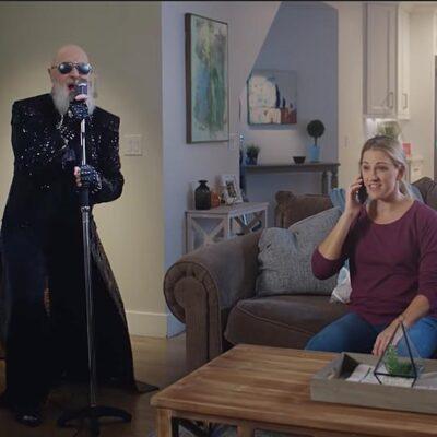 Rob Halford снялся в забавных рекламных роликах страховой компании