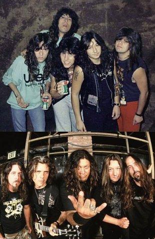 портрет металиста в юности Testament Tankard Slayer Sepultura Ozzy Osbourne Napalm Death Mnemic Meshuggah Mastodon Judas Priest Carcass Ancient
