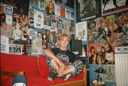 Dani Filth в юности