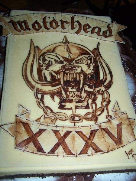 cake for Motorhead