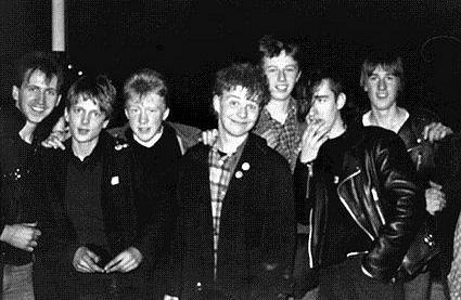 музыканты Napalm Death в молодости