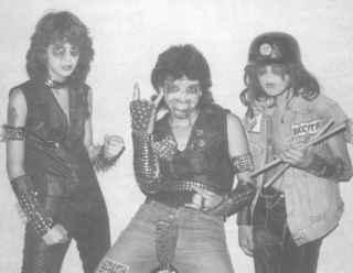 портрет металиста в юности Sepultura