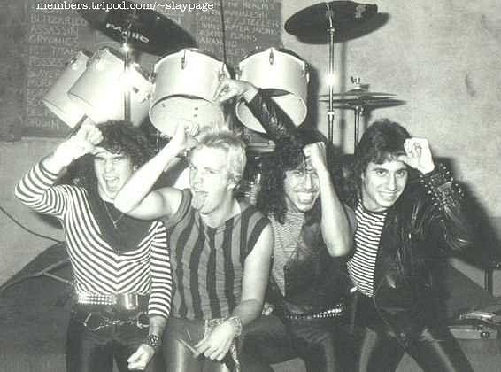 музыканты Slayer ранние фото